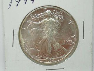 1994 American Eagle Silver Dollar Coin