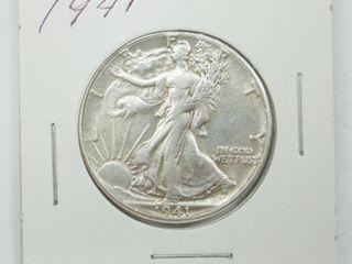 1941 American Eagle Silver Dollar Coin