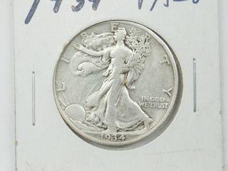 1934 American Eagle Silver Dollar Coin