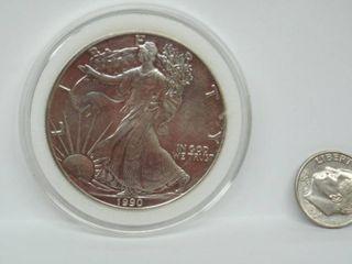 1990 American Eagle Silver Dollar Coin