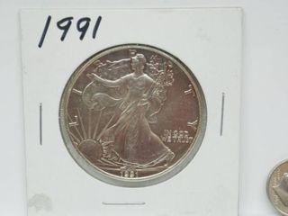 2000 American Eagle Silver Dollar Coin