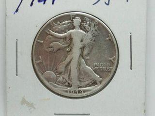 1944 liberty Silver Half Dollar Coin