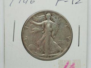 1946 liberty Silver Half Dollar Coin