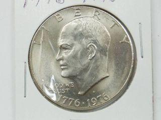 1776 1976 Bicentennial Eisenhower Dollar Coin