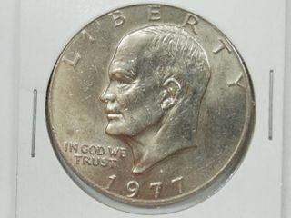 1977 D Eisenhower Dollar Coin