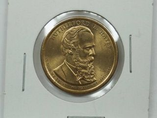1877 1881 Rutherford B  Hayes Dollar Coin