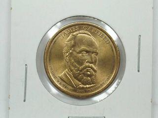 1881 James Garfield Dollar Coin