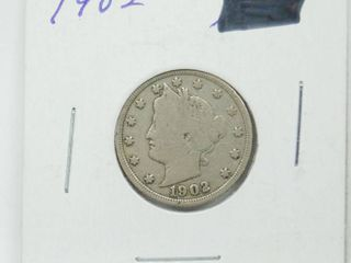 1902 liberty V Nickel