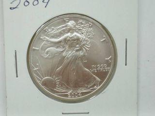 2004 American Eagle Silver Dollar Coin