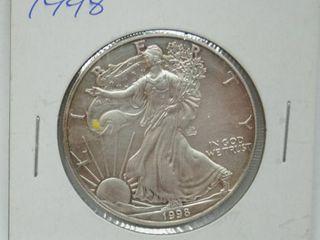 1998 American Eagle Silver Dollar Coin