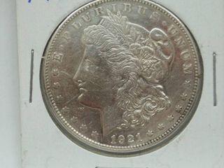 1921 S Morgan Silver Dollar Coins
