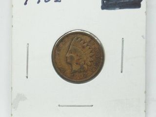 1902 Indian Head Penny Coin