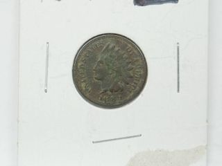 1889 Indian Head Penny Coin
