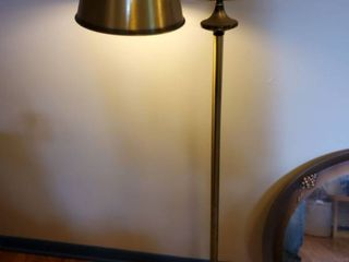 Metal Self Standing lamp  with Metal zlamp Shade  Tested and Working