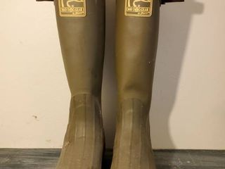 Ducks Unlimited Mad Dog Gear Rubber Boots  Size 10