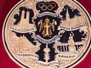1972 Munich Olympic Plate location lR Shelf B
