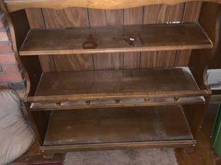 Wood Book Shelf location lR