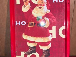 Santa Claus Metal Tray location lR Shelf A