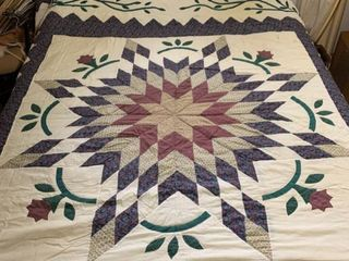 Queen Size Quilt 92 x 88 Inches location Master BR
