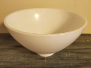 Single White Milk Glass lamp Shade