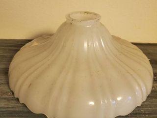 White Glass lamp Shade
