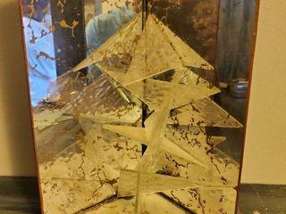 Clear glass Decorative Art Piece