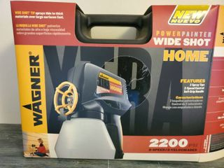 Wagner Wide Shot 2200 PSI Electric Power Painter  Never Used