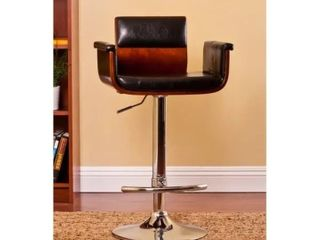 Carson Carrington Solvesborg Contemporary Swivel adjustable Bar Stool  Retail 97 99