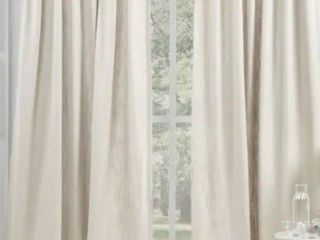 lauren Ralph lauren Vienna light Filtering Back Tab Rod Pocket Curtain Panel