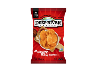 Deep River   Potato Chips 2 00 oz Case of 24 Mesquite BBq