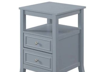 Copper Grove Aubrieta 2 drawer End Table  Retail 134 49