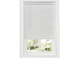 Achim Cordless GII Deluxe Sundown 1  Room Darkening Mini Window Blind  White