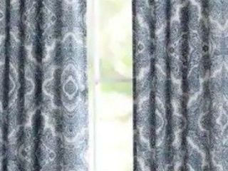 Miller Curtains Harlow Back Tab Blackout Panel set of 2 42 x62