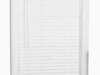 allen   roth Trim at Home 2 in Cordless White Faux Wood Room Darkening Plantation Blinds  Common  33 in  Actual  32 5 in x 64 in