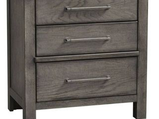 Modern farmhouse Dusty charcoal set of drawers3 liberty furniture