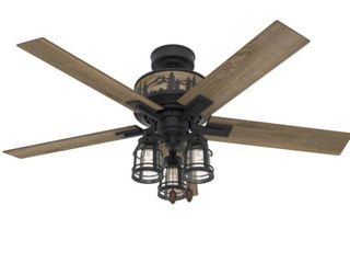 Hunter Vista 52 led 52  Mt  Vista Ceiling Fan   Natural Iron