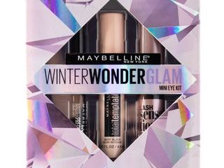 Maybelline Winter Wonderglam Mini Mascaras and Eyeliner Kit  3 Count