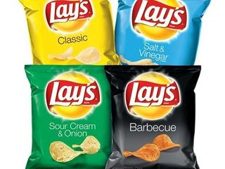 lay s Potato Chip Variety Pack  40 Count