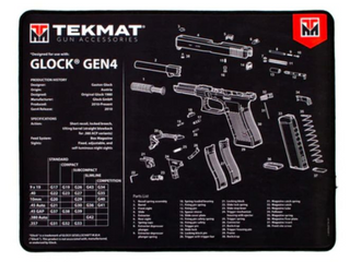 Tekmat Ultra Gun Cleaning Mat Cloth Tek 20 glock g4