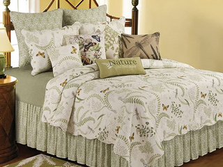 Althea Cotton Quilt  Green  Retail 103 99