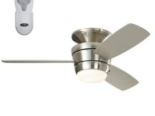 Harbor Breeze amazon Brushed Nickel Finish Ceiling Fan with Remote Control