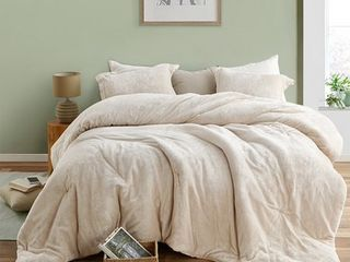 The Original Plush Coma Inducer Almond Milk Oversized Comforter Retail 131 49