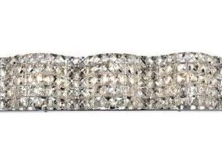 Elegant lighting Tate 20 6  Chrome 3 light Wall Sconce