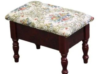 Cherry Foot Stool with Storage