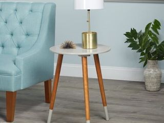 Simple living Julia End Table   Grey