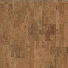 Natural Floors by USFloors Exotic Hardwood Prefinished Natural Cork Smooth Traditional locking Hardwood Flooring Sample