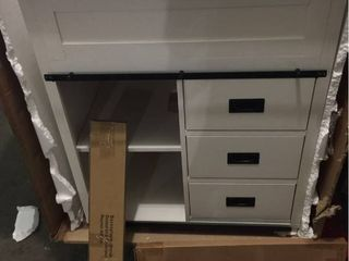 3 Drawer Vanity w Sink