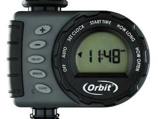 Orbit 1 Output Port Digital Hose End Timer