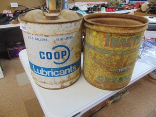 Coop and Tracto 5 Gallon Can