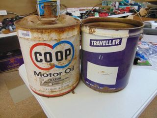 Coop and Traveler 5 Gallon Can